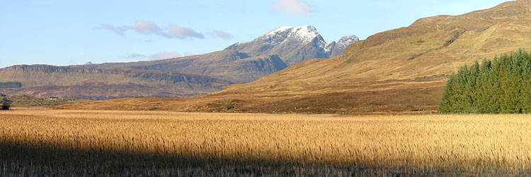 Loch Kilchrist and Blaven